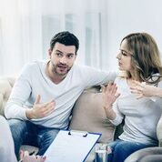 Couples Therapy, unemotional partner